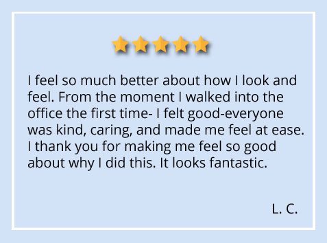 patient testimonial about New York City office