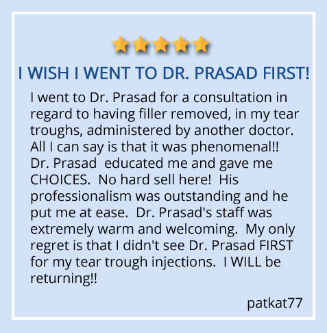 patient review about Dr. Amiya Prasad